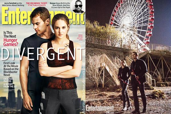 . Divergent + Spectacular Now
