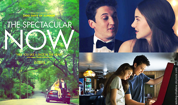 . Article spécial sur The Spectacular Now, un film de James Ponsoldt