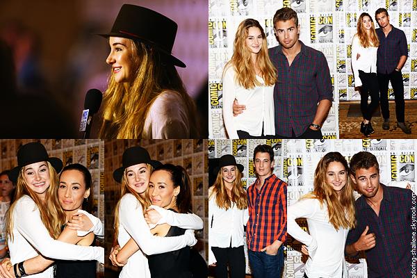 . Divergent au Comic Con de San Diego 2013