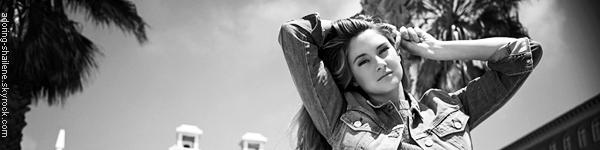. Interview de Shailene pour FLAUNT de septembre 2013