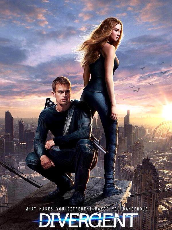 . Bande annonce intégrale de Divergent + Nouvelle affiche!