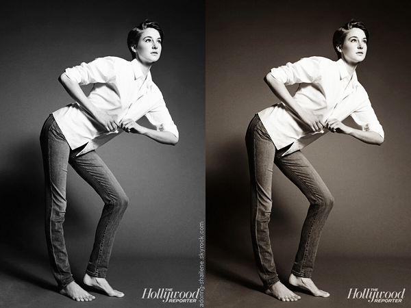 . Nouveau photoshoot de Shailene pour The Hollywood Reporter