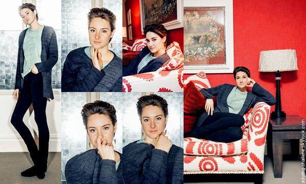 . Photoshoot de Shailene au Soho Hotel à Londres