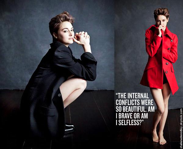 . Photoshoot de Shailene pour Empire Magazine du mois de février