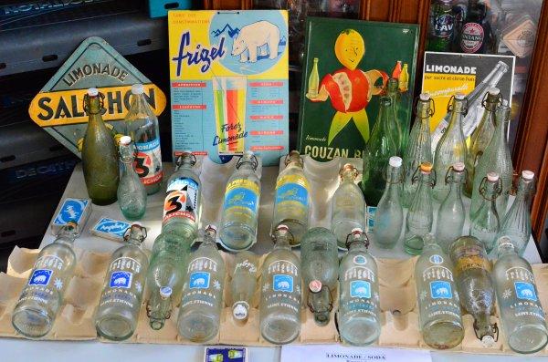 Ma collection de limonade de la loire