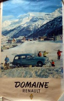 Trouvaille du jour : Posters Renault