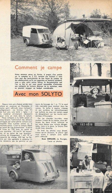 CARAVANING :SOLYTO