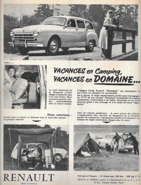 Camping Voyage Plein Frégate / domaine