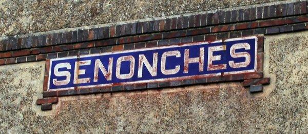 SENONCHES : la Gare