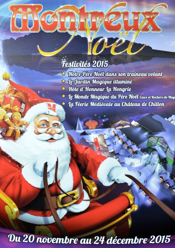 Marchés de Noël : Montreux