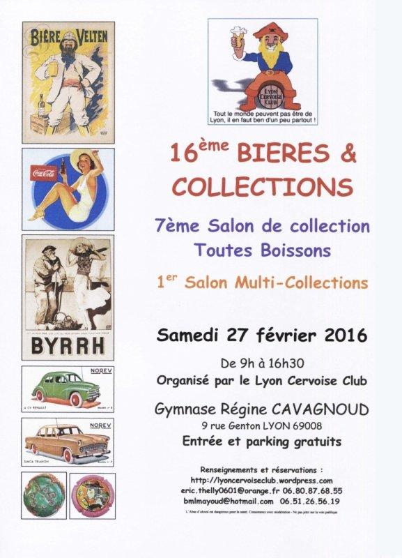 16 ème Bieres et collections