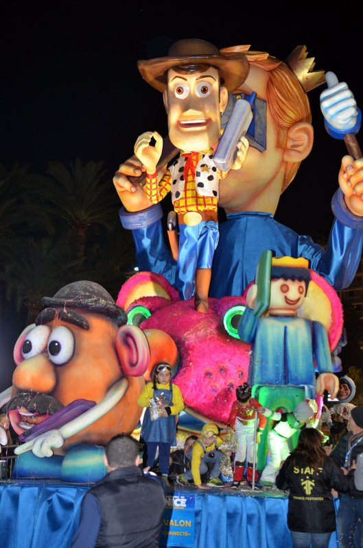Carnaval de Nice soirée