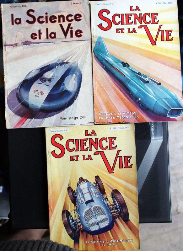 Trouvaille du jour : Science et vie Automobiles