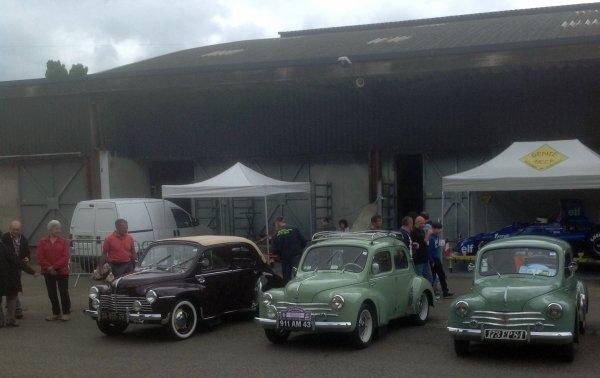 70 ans de la Renault 4CV