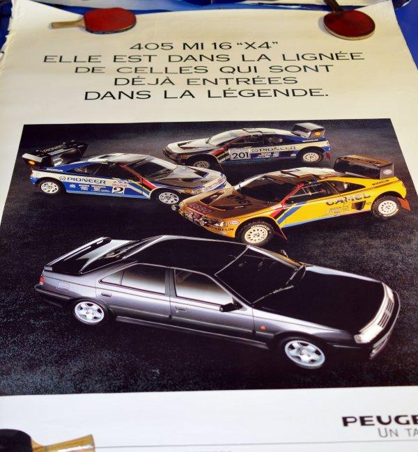 Trouvaille du jour : Affiches Peugeot