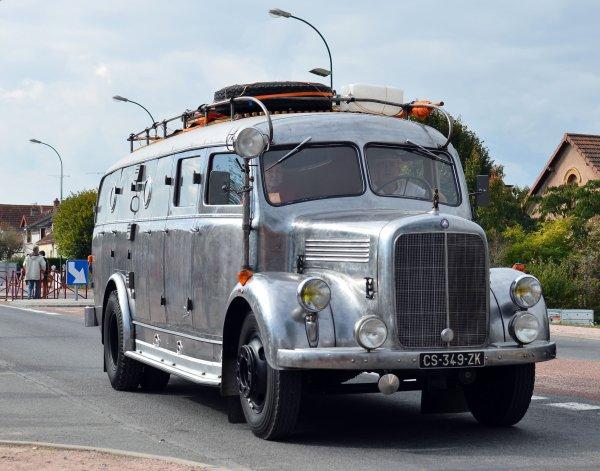 Lapalisse 2016 : les camping-cars et camions