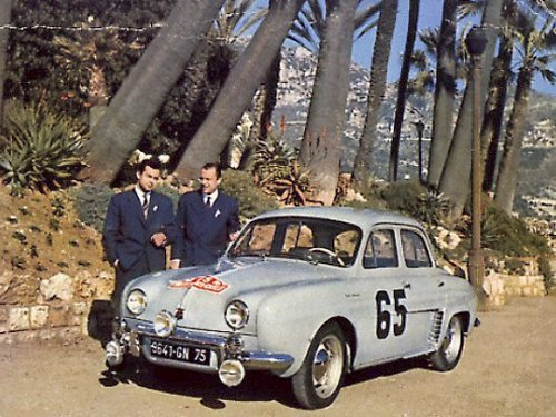Dauphine Monte Carlo 1958