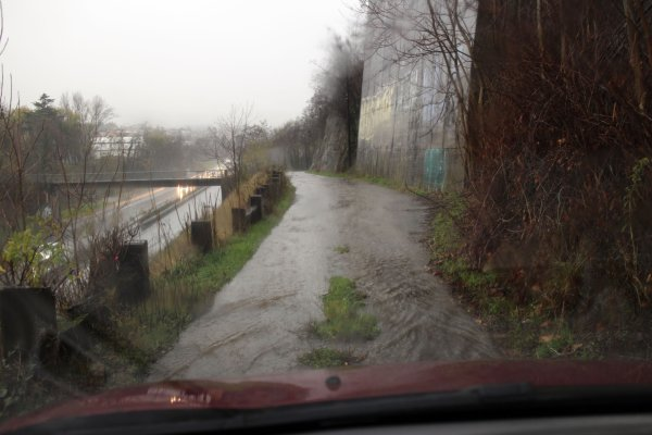 Alerte inondation sur La Grand-Croix