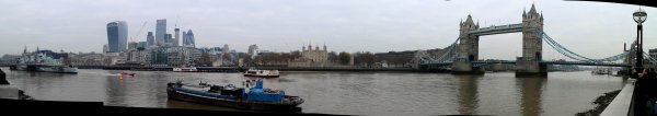 Weekend 2016 : Londres panoramiques