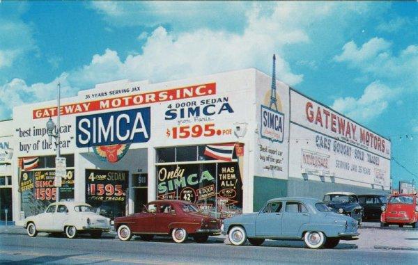 Garage SIMCA