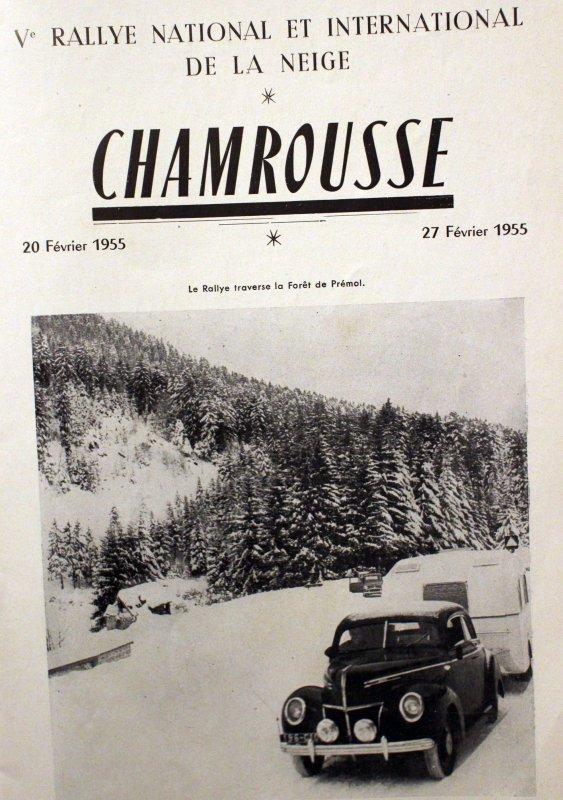 Chamrousse dans les années 50