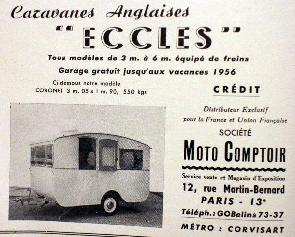 Publicité année 50