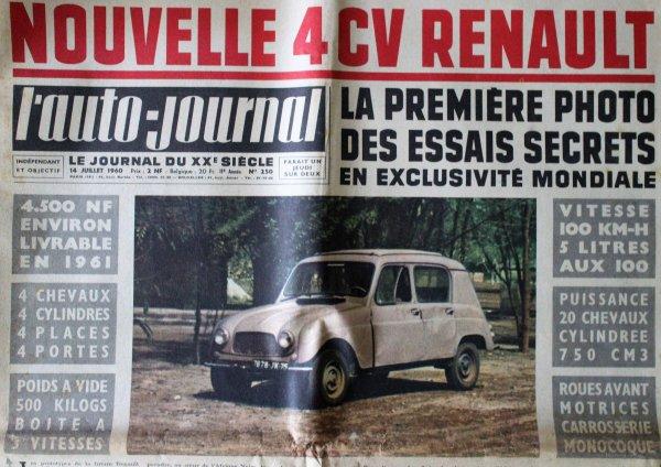 renault Nostalgie : 4L