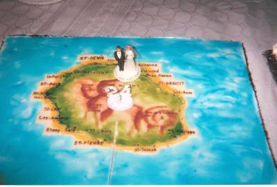 gateau : cest lîle de La Reunion car mon cousin par alliance et de ...