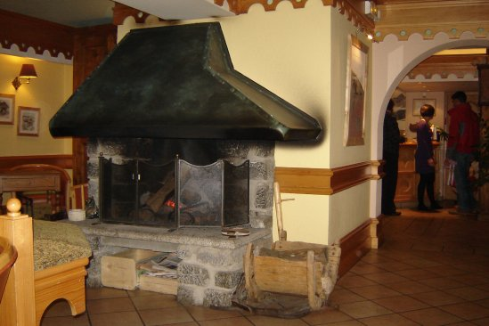 L'orée du bois à Méribel.