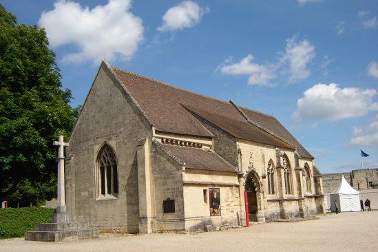 Eglise Saint Georges-Châtrau de Caen.