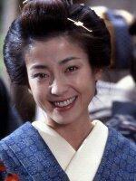 la joie est une expression spontanée naturelle.qui vient directement du coeur,les yeux de cette charmente japonaise petillent de bonheur,elle fait éclater sa joie pour la communiquer aux autres la joie profonde s'inspire de LA sérénité et nous y ramène.