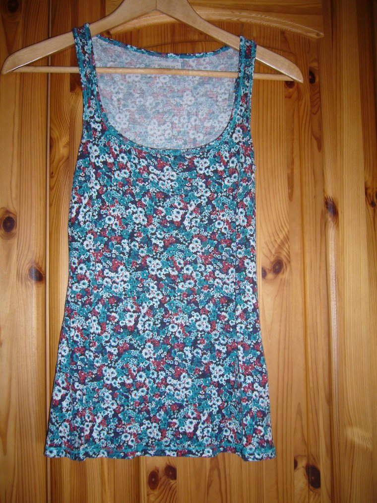 Débardeur motif liberty taille S Pull & Bear. NEUF