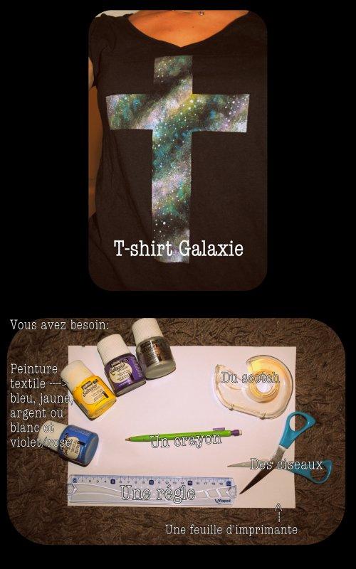 DIY n°1:  Créer vos propres motifs Galaxie!!!
