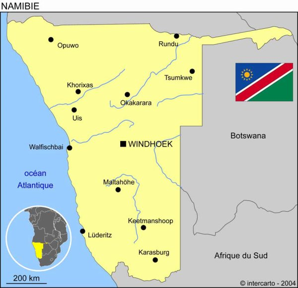 Ras Sheehama - Inotila ( - namibie - )