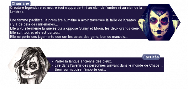 n°8 - Chamane