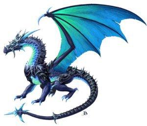 Dragon des glaces les dragons - Aile de dragon dessin ...