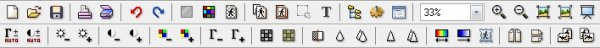 Explication des icônes du haut