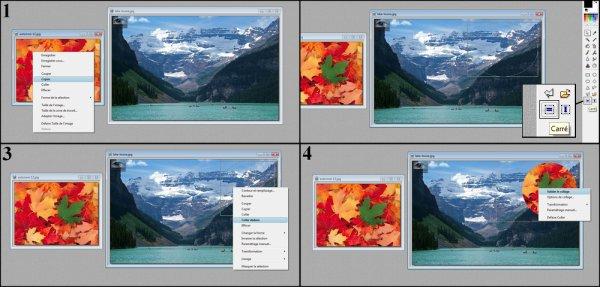 Coller une image dans une forme (Coller dedans)