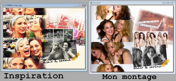 Montage #1 (long) - Gossip Girl - Plusieurs effets