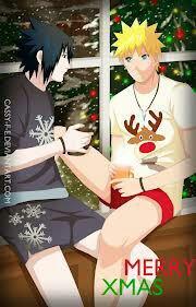 Un Noël en amoureux sasunaru :)