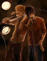 Le koroke en amoureux  :)