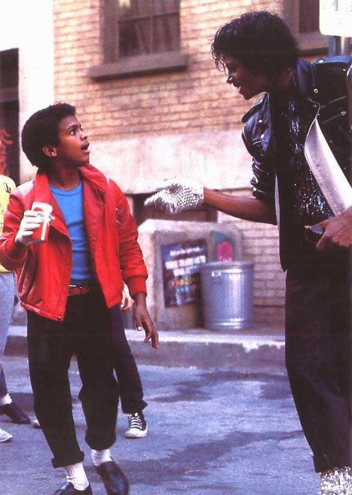 Micheal Jackson pour la pub Pepsi !
