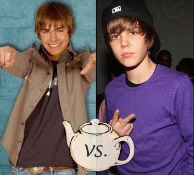 Zac Efron vs Justin Bieber