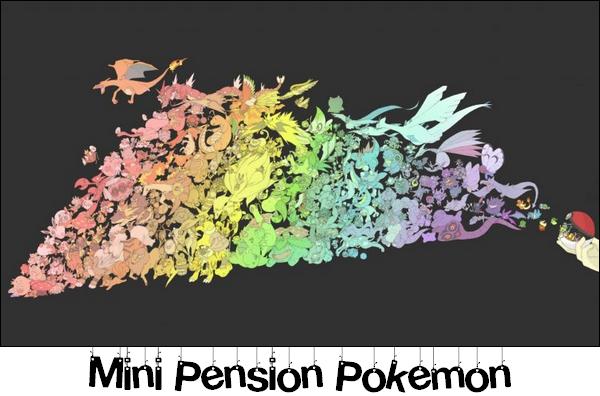 Mini Pension Pokémon !