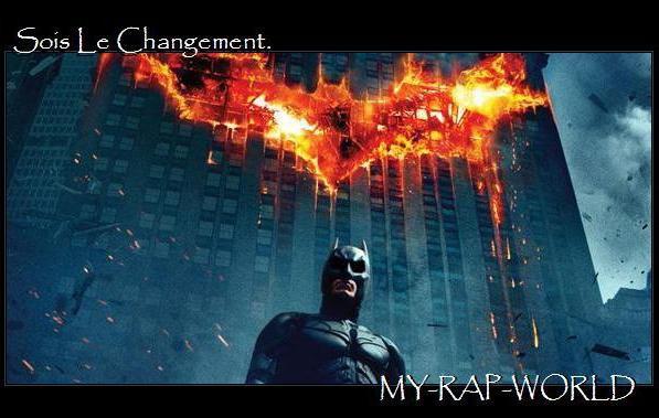 M-R-W  Sois le changement que tu veux voir en ce monde.