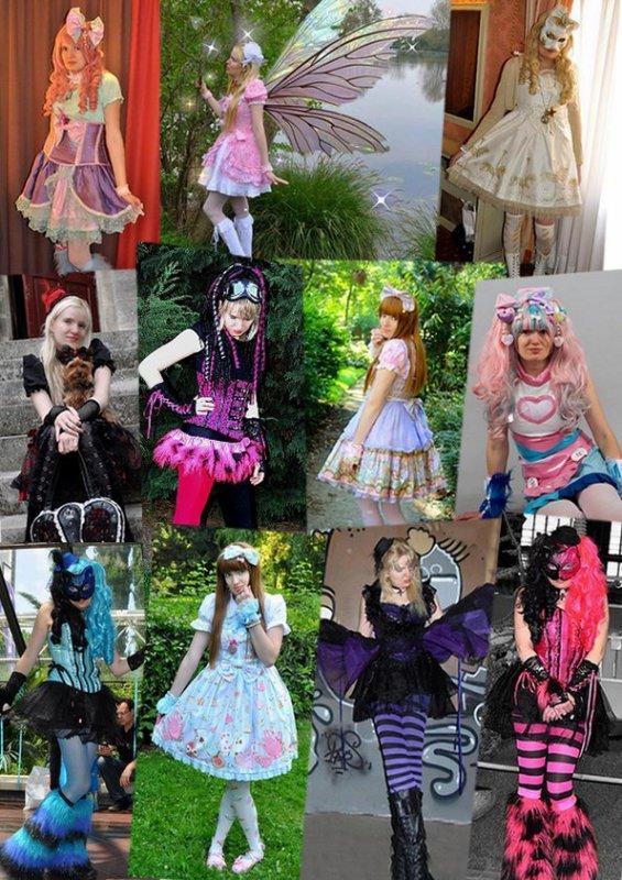 Mes différents styles vestimentaires