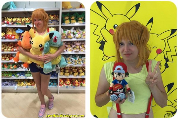 Ondine du dessin animé Pokemon