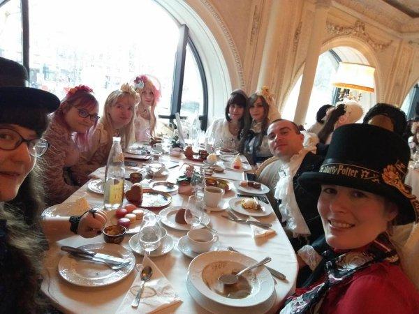 TEA PARTY TRIPLE FORTUNE, le 6 février 2019 à PARIS
