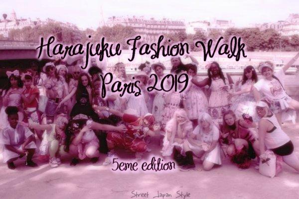 MEETING HARAJUKU FASHON WALK 2019