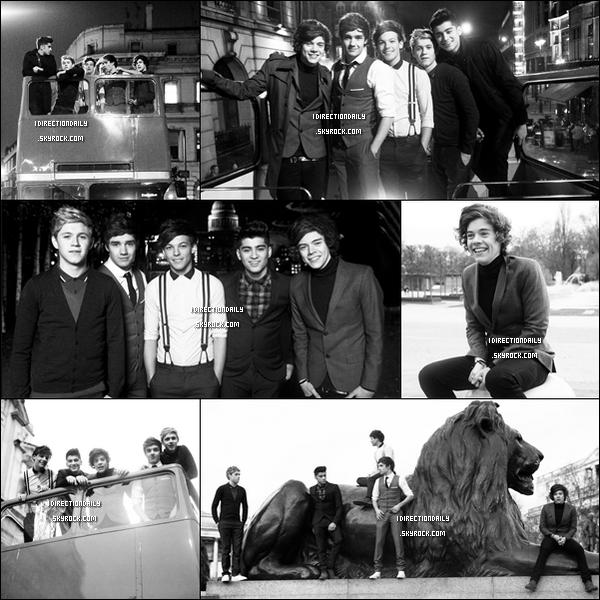 Des stills du tournage du clip One Thing , des garçons sont apparut récemment.